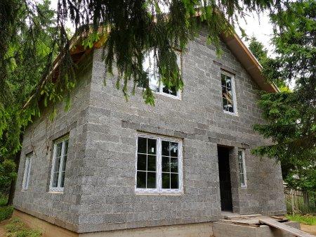 Строительство энергоэффективных домов из арболита для ПМЖ.