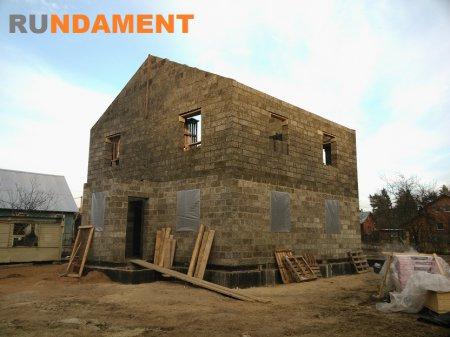 Фото домов из арболита 2014-1