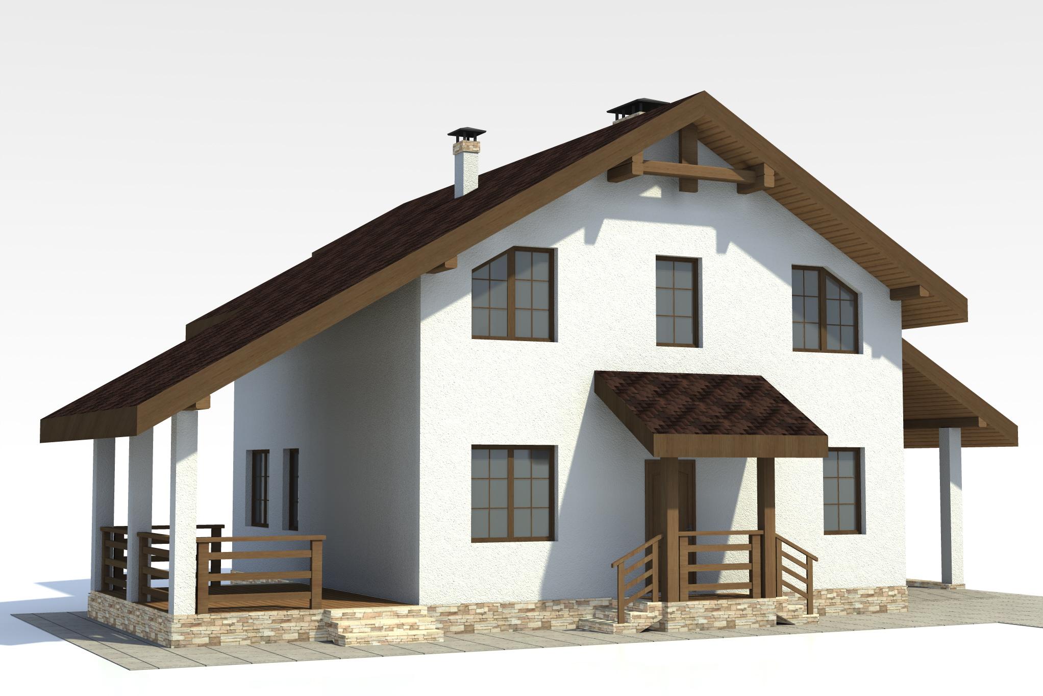 арболит проекты домов