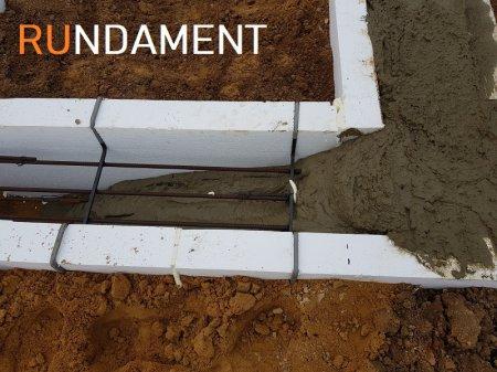 Фото фундамента РУндамент для дома из арболита