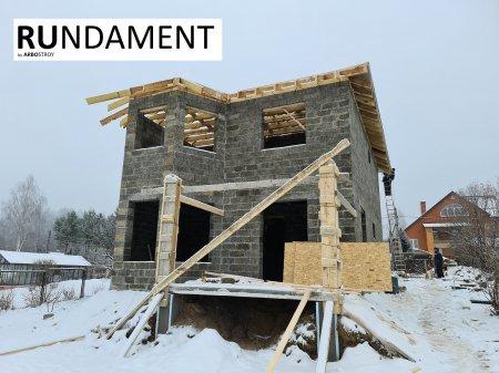 Фото домов из арболита 2020 - 3
