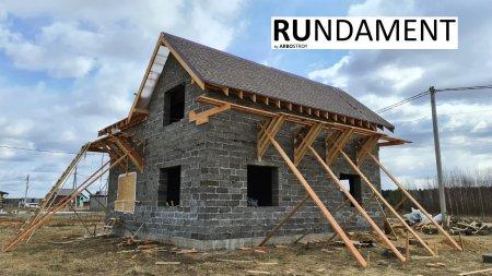 Проект дома из арболита 170 м2