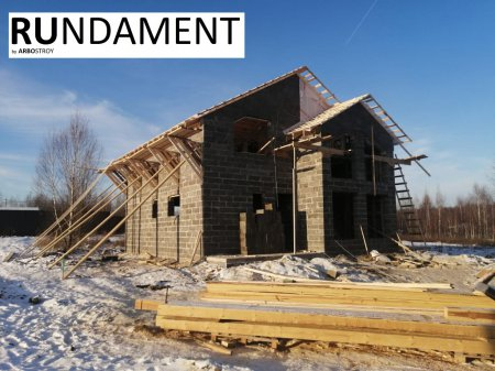 Проект дома из арболита 180 м2